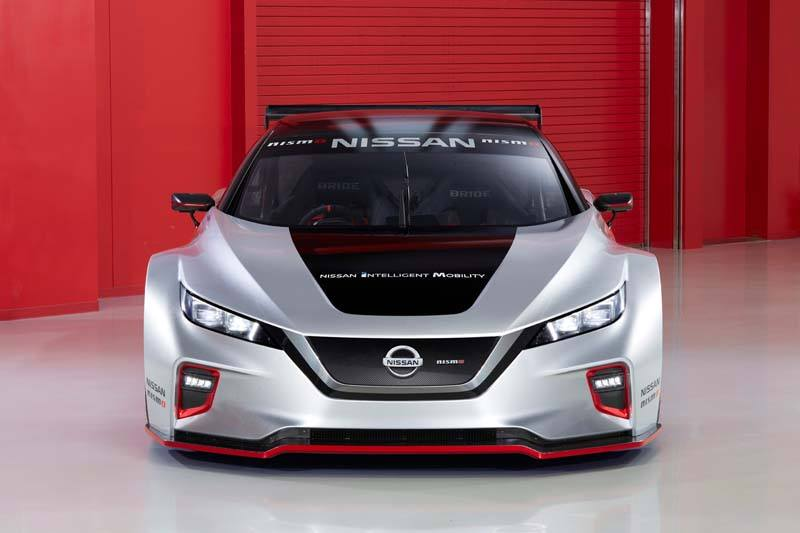 Nissan LEAF NISMO RC - Frontal
