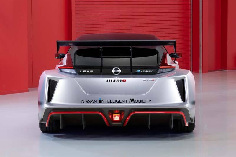 Nissan LEAF NISMO RC - Trasera