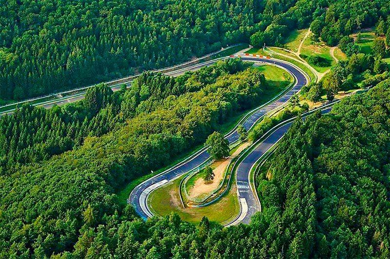 Foto del circuito de Nurburgring