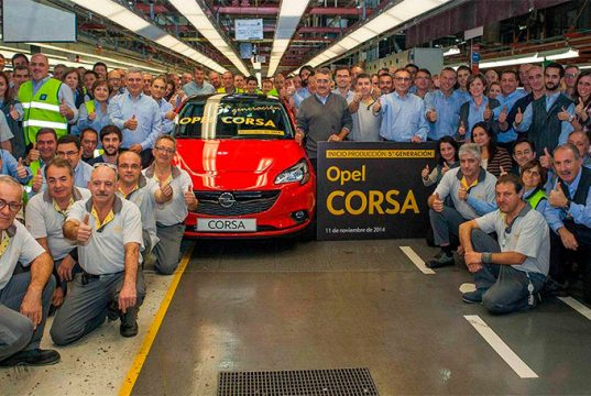 La fábrica de Opel en Zaragoza fabricará el Opel Corsa eléctrico