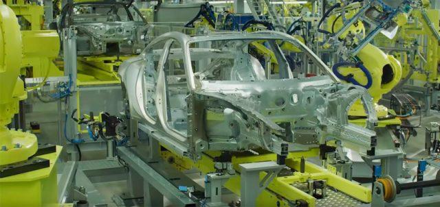 Fabricación desde cero del Porsche Taycan