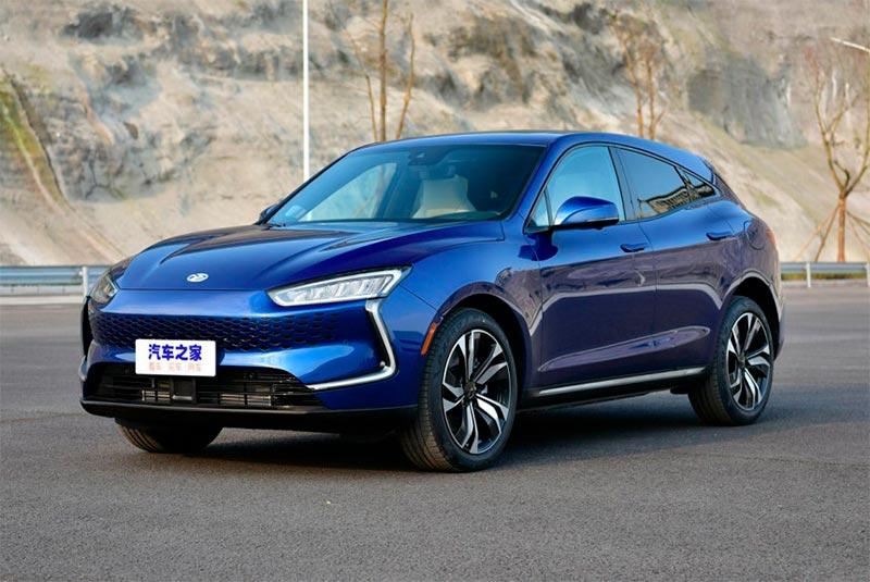 Foto del Seres SF5, coche eléctrico de un fabricante chino