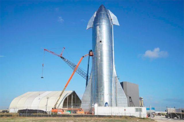 Starship de SpaceX ya está ensamblado