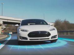 Imagen de un Tesla Model S con Autopilot