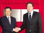 Acuerdo de Tesla y China para construir la Gigafactory 3