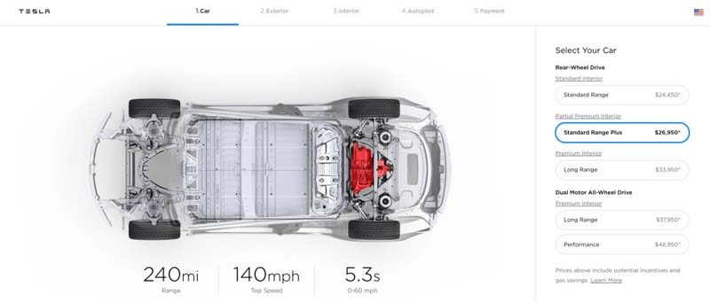 Tesla-Model-3-aumento-precios-version-standard-plus