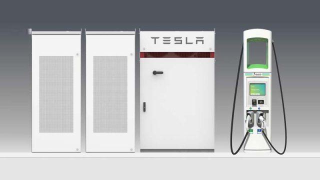 Tesla-Powerpack_Electrify-America_Estaciones-Carga