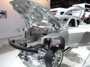 Estructura del Tesla Model 3
