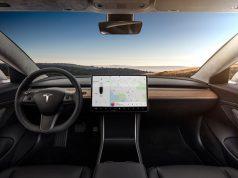 Interior del Tesla Model 3
