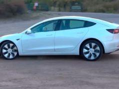 Foto de las nuevas ruedas aero para el Tesla Model 3 de China