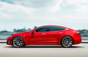 Foto de un Tesla Model S Performance