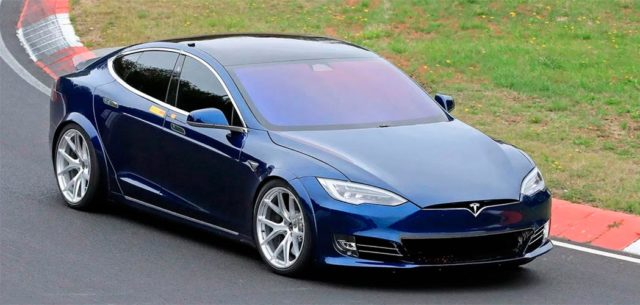 Tesla Model S Plaid en Nurburgring