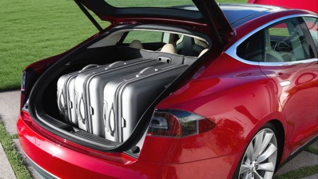 Maletero del Tesla Model S