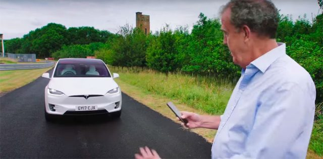 Tesla Model X probado en The Grand Tour por Jeremy Clarkson