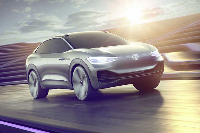 Coche eléctrico de VW (Concept)