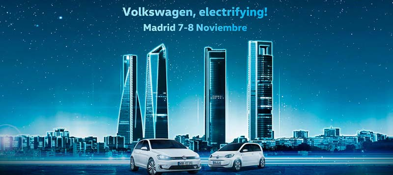 Test Drive y eRoadshow de Volkswagen en Madrid
