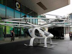 Foto del Volocopter, un nuevo taxi aéreo