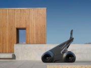Imagen del concept de coche eléctrico y autónomo de Alexander Zhukovsky