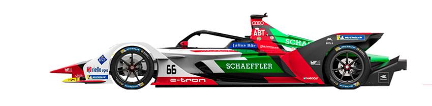 Coche de Audi Sport ABT Schaeffler