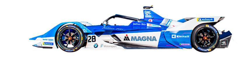 Coche de BMW i Andretti Motorsport