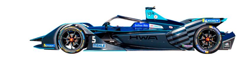 Coche de HWA Racelab
