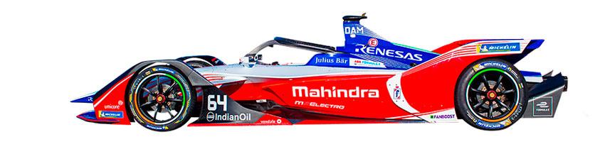 Coche de Mahindra Racing