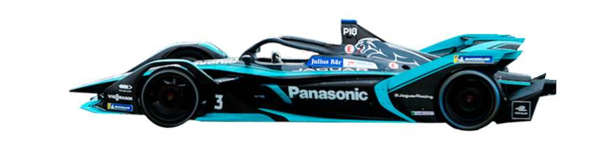 Coche de Panasonic Jaguar Racing
