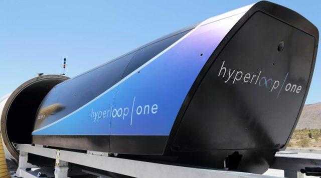 Imagen del Hyperloop One