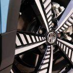 Detalle de las ruedas del MG ZS EV