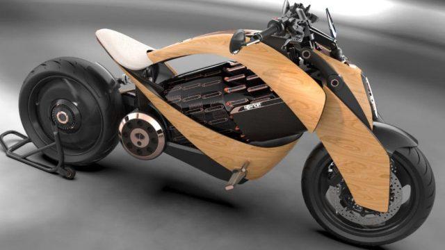 newron-motocicleta-electrica-madera-lateral