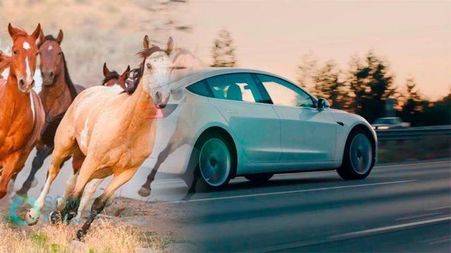 Sonido que emite el Tesla cuando se mueve