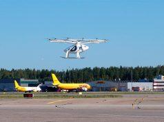 Pruebas del taxi aereo con tráfico aéreo real